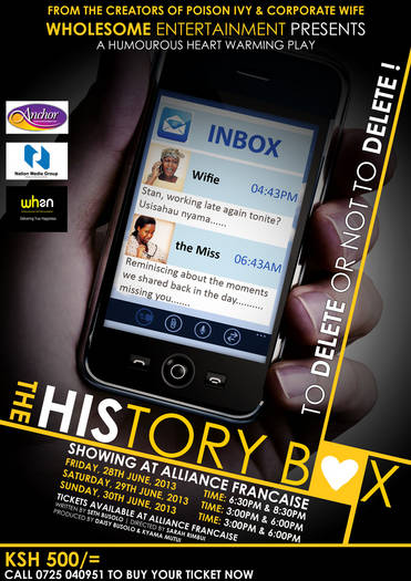 History Box: Play by Wholesome Entertainment