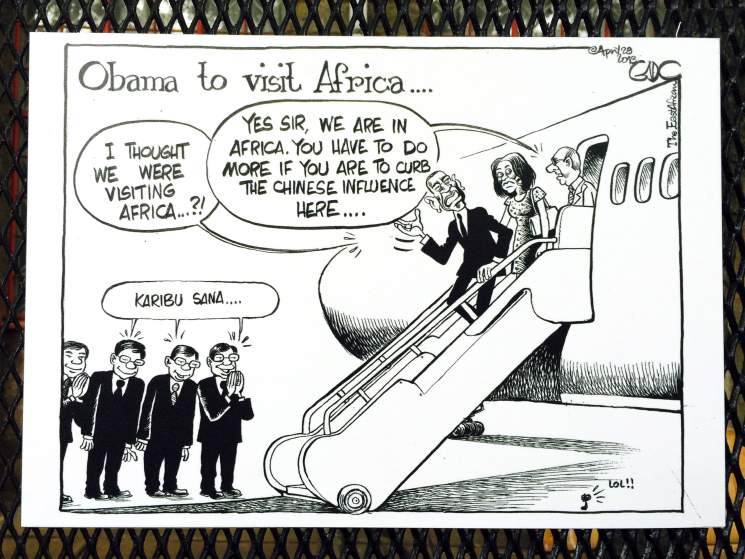 NAIROBI CARTOON EXHIBITION TAKES ON OBAMA AND OBAMAPHILES